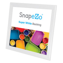 "Load image into Gallery viewer, 36x36 White SnapeZo® Snap Frame - 1.7"" Profile"