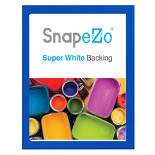 "Load image into Gallery viewer, 34x44 Blue SnapeZo® Snap Frame - 1.7"" Profile"