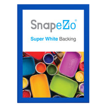 "Load image into Gallery viewer, 33x47 Blue SnapeZo® Snap Frame - 1.7"" Profile"