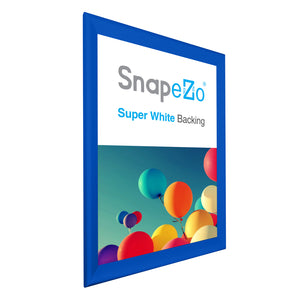 "32x45 Blue SnapeZo® Snap Frame - 1.7"" Profile"