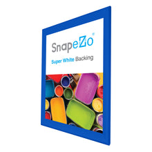 "Load image into Gallery viewer, 32x45 Blue SnapeZo® Snap Frame - 1.7"" Profile"