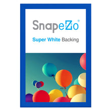 "Load image into Gallery viewer, 30x46 Blue SnapeZo® Snap Frame - 1.7"" Profile"