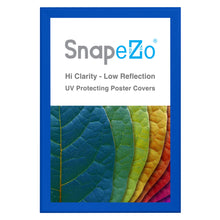 "Load image into Gallery viewer, 32x48 Blue SnapeZo® Snap Frame - 1.7"" Profile"