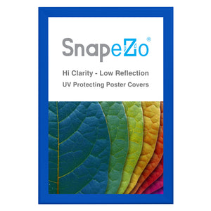 "30x46 Blue SnapeZo® Snap Frame - 1.7"" Profile"