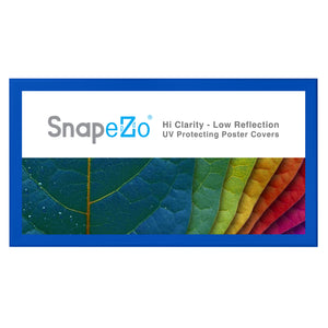 "21x62 Blue SnapeZo® Snap Frame - 1.7"" Profile"