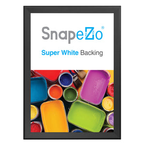 "32x46 Black SnapeZo® Snap Frame - 1.7"" Profile"