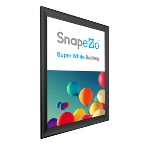 "35x48 Black SnapeZo® Snap Frame - 1.7"" Profile"