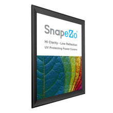 "Load image into Gallery viewer, 32x46 Black SnapeZo® Snap Frame - 1.7"" Profile"