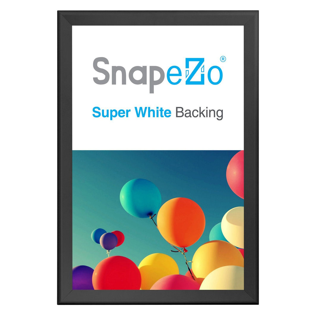 Black snap frame poster size 24X36 - 1.7 inch profile - Snap Frames Direct