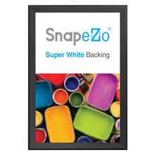Load image into Gallery viewer, Black movie poster snap frame poster size 27X41 - 1.7 inch profile - Snap Frames Direct