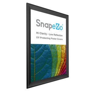 "27x40 Black SnapeZo® Snap Frame - 1.7"" Profile"