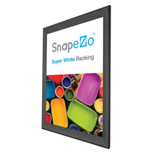 "Load image into Gallery viewer, 27x40 Black SnapeZo® Snap Frame - 1.7"" Profile"