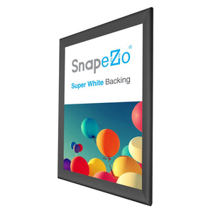 "27x41 Black SnapeZo® Snap Frame - 1.7"" Profile"
