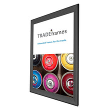 "Load image into Gallery viewer, 24x36 Black TRADEframe Snap Frame - 1.7"" Profile"
