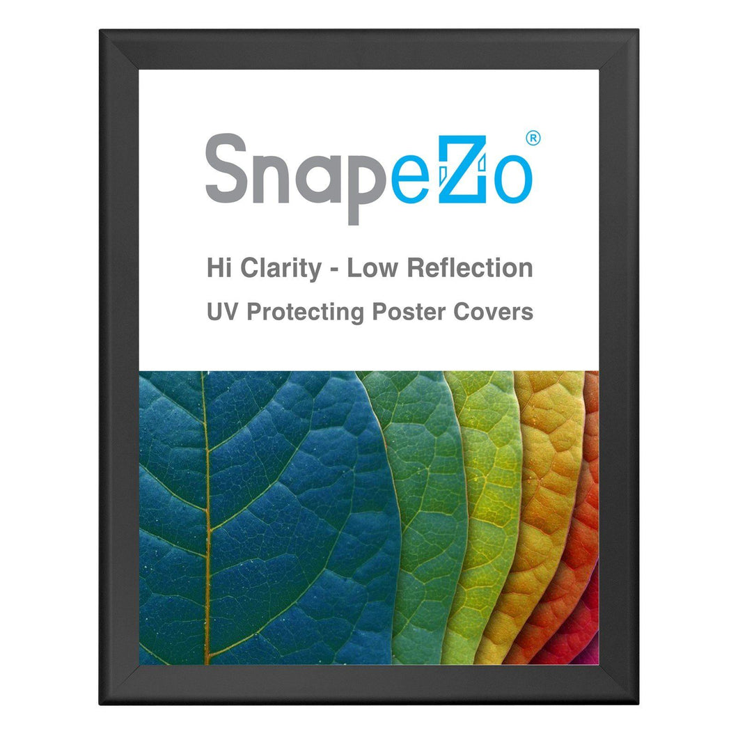 Black snap frame poster size 22X28 - 1.7 inch profile - Snap Frames Direct