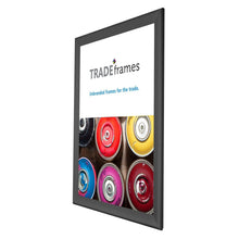 "Load image into Gallery viewer, 22x28 Black TRADEframe Snap Frame - 1.7"" Profile"