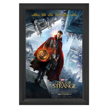 Load image into Gallery viewer, Black movie poster snap frame size 27x40 - 2.2 inch profile - Snap Frames Direct