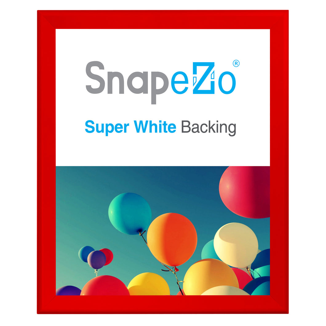 34x40 Red SnapeZo® Snap Frame - 1.7