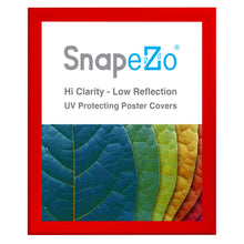 "Load image into Gallery viewer, 34x40 Red SnapeZo® Snap Frame - 1.7"" Profile"