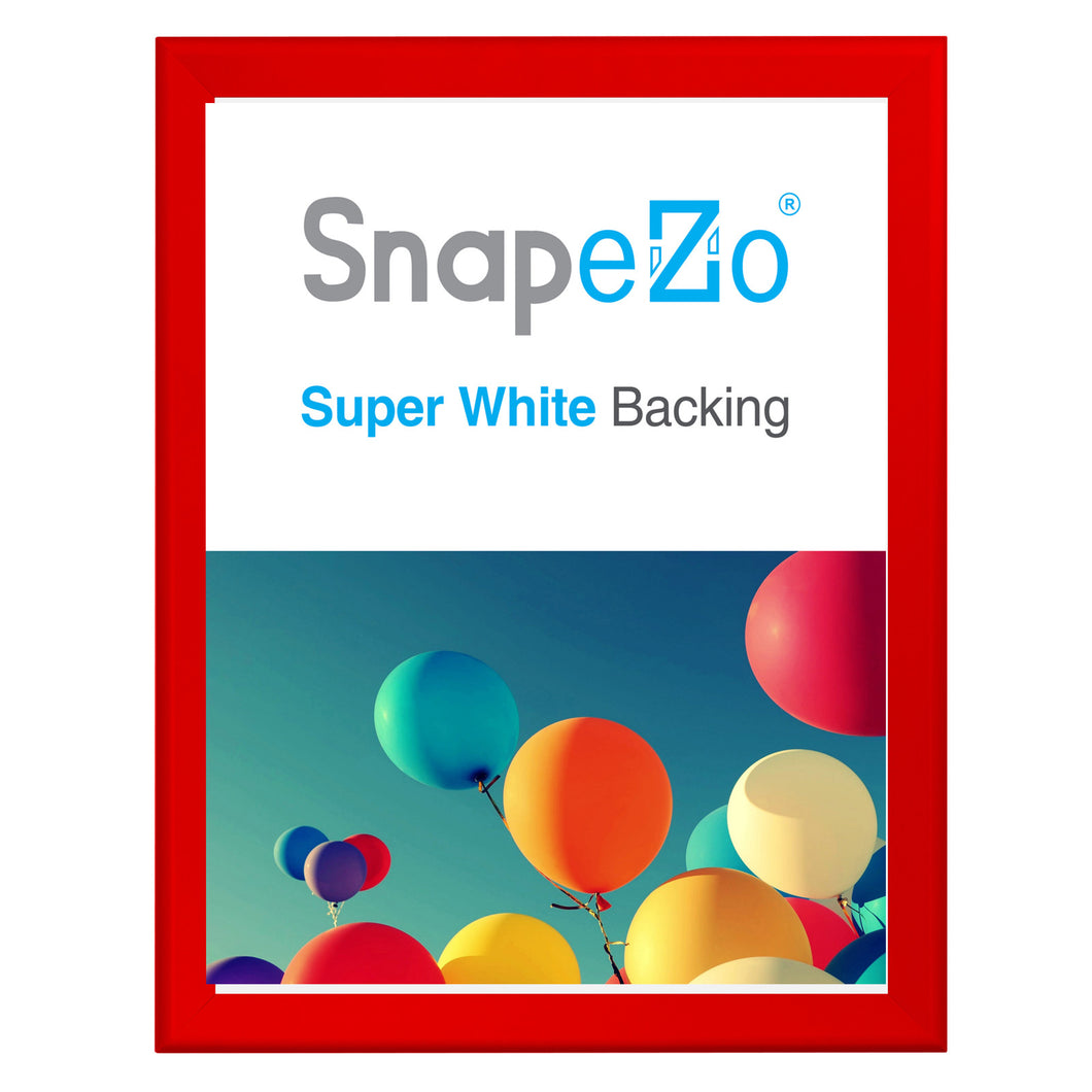34x44 Red SnapeZo® Snap Frame - 1.7