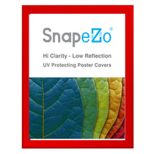 "Load image into Gallery viewer, 32x40 Red SnapeZo® Snap Frame - 1.7"" Profile"