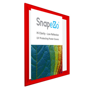 "32x40 Red SnapeZo® Snap Frame - 1.7"" Profile"