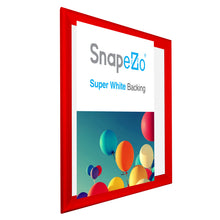 "Load image into Gallery viewer, 34x44 Red SnapeZo® Snap Frame - 1.7"" Profile"