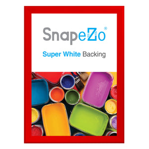 "33x47 Red SnapeZo® Snap Frame - 1.7"" Profile"