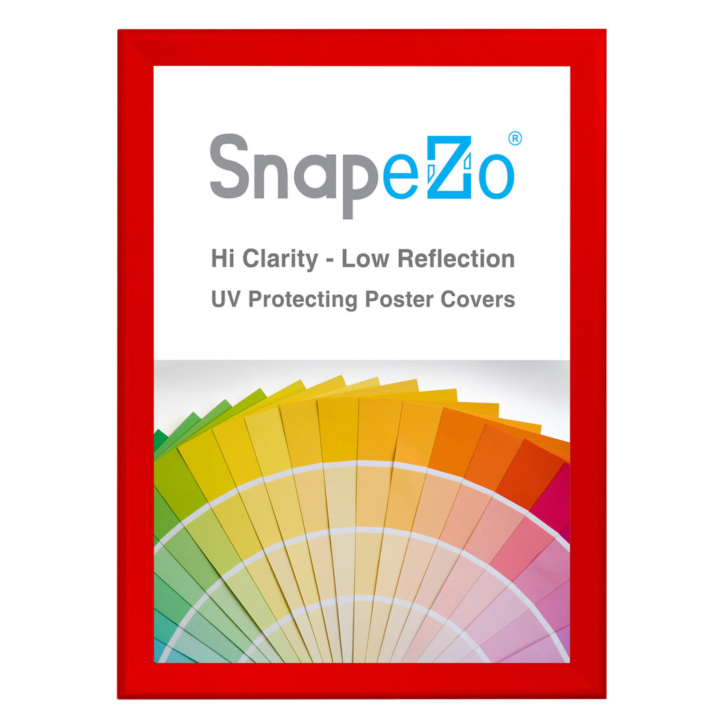 31x44 Red SnapeZo® Snap Frame - 1.7