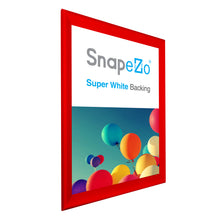 "Load image into Gallery viewer, 31x44 Red SnapeZo® Snap Frame - 1.7"" Profile"