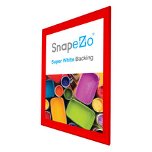 "Load image into Gallery viewer, 35x48 Red SnapeZo® Snap Frame - 1.7"" Profile"