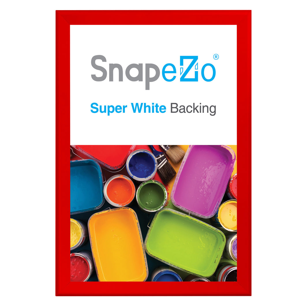 32x48 Red SnapeZo® Snap Frame - 1.7