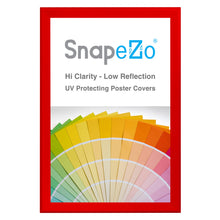 "Load image into Gallery viewer, 31x46 Red SnapeZo® Snap Frame - 1.7"" Profile"