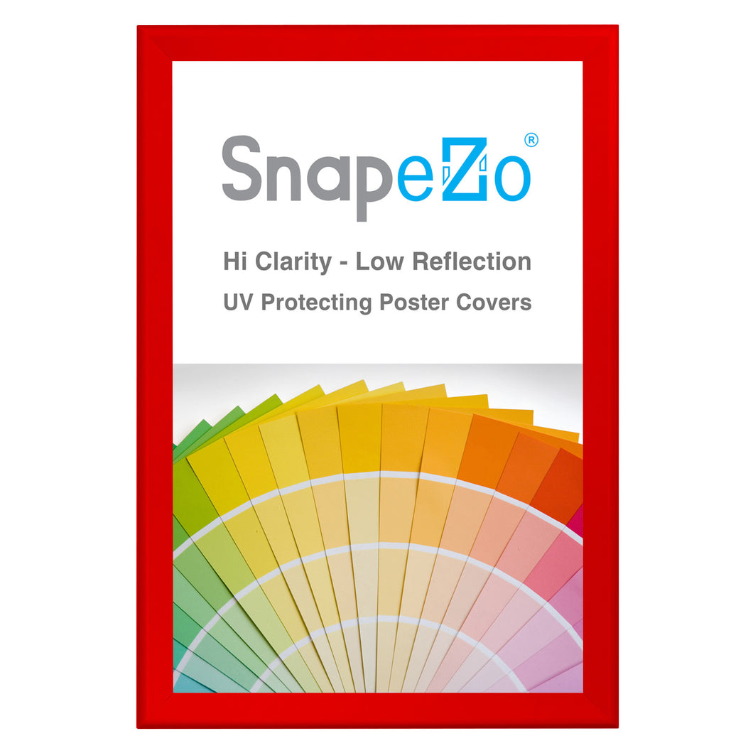 31x46 Red SnapeZo® Snap Frame - 1.7