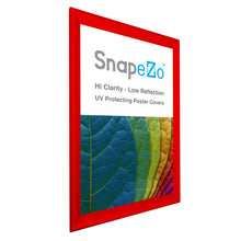 "Load image into Gallery viewer, 32x48 Red SnapeZo® Snap Frame - 1.7"" Profile"