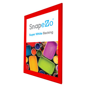 "31x46 Red SnapeZo® Snap Frame - 1.7"" Profile"