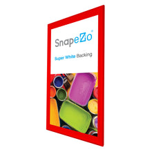 "Load image into Gallery viewer, 21x62 Red SnapeZo® Snap Frame - 1.7"" Profile"
