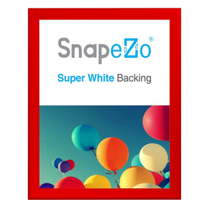 "36x48 Red SnapeZo® Return Snap Frame - 1.7"" Profile"