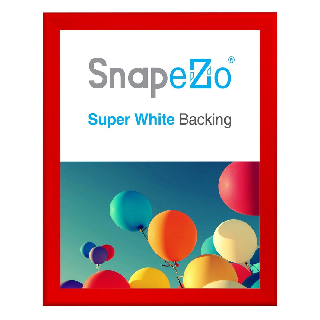 36x48 Red SnapeZo® Return Snap Frame - 1.7