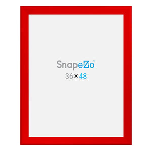 "36x48 Red SnapeZo® Snap Frame - 1.7"" Profile"