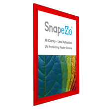 "Load image into Gallery viewer, 36x48 Red SnapeZo® Return Snap Frame - 1.7"" Profile"