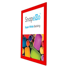 "Load image into Gallery viewer, 36x48 Red SnapeZo® Snap Frame - 1.7"" Profile"