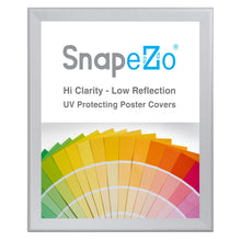 "Load image into Gallery viewer, 34x40 Silver SnapeZo® Snap Frame - 1.7"" Profile"
