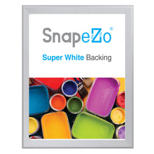 "Load image into Gallery viewer, 32x42 Silver SnapeZo® Snap Frame - 1.7"" Profile"
