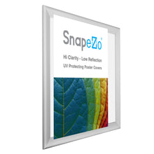 "Load image into Gallery viewer, 34x44 Silver SnapeZo® Snap Frame - 1.7"" Profile"