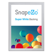 "Load image into Gallery viewer, 34x48 Silver SnapeZo® Snap Frame - 1.7"" Profile"