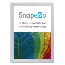 "Load image into Gallery viewer, 33x46 Silver SnapeZo® Snap Frame - 1.7"" Profile"