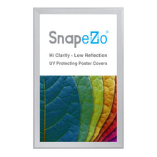 "Load image into Gallery viewer, 32x50 Silver SnapeZo® Snap Frame - 1.7"" Profile"
