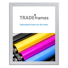 "Load image into Gallery viewer, 36x48 Silver Snap Frame - 1.7"" Profile"