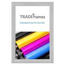 Load image into Gallery viewer, 27x40  TRADEframe Silver Snap Frame 27x40 - 2.2 inch profile